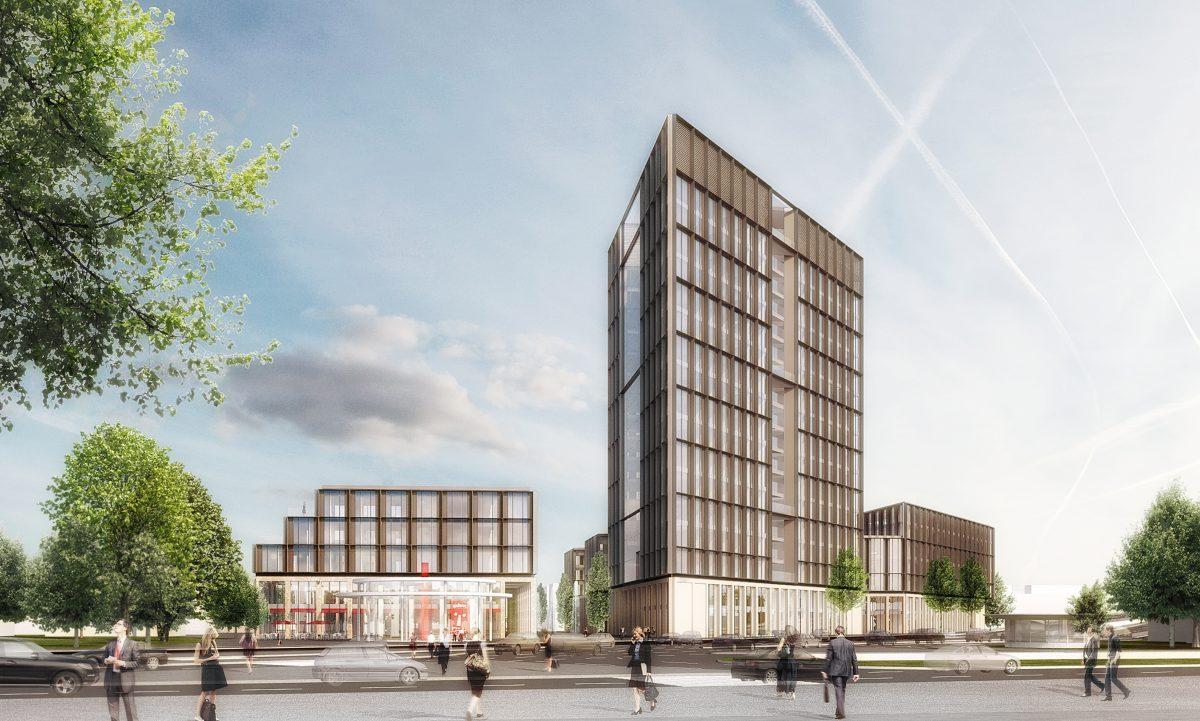 neues europa quartier am bundeskanzlerplatz hillmer und. Black Bedroom Furniture Sets. Home Design Ideas