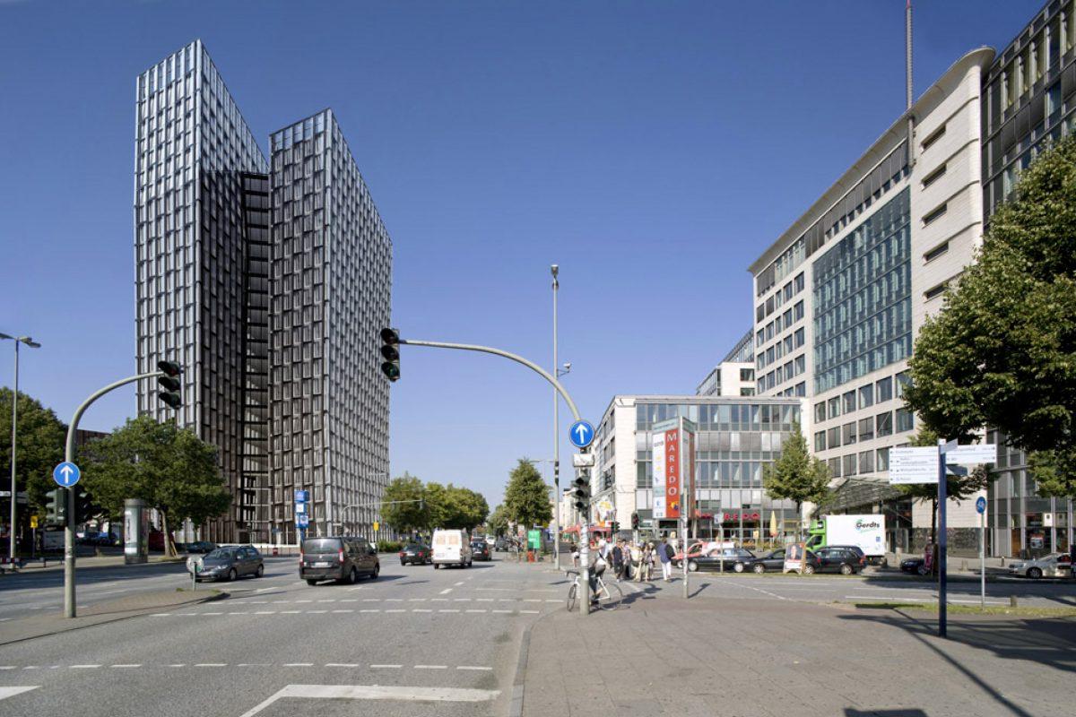 Tanzende Türme, Reeperbahn, Hamburg